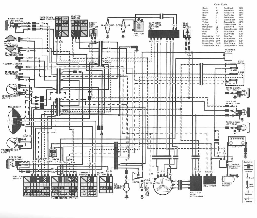 cm400 wiring diagram wiring diagram general Dodge Wiring Harness